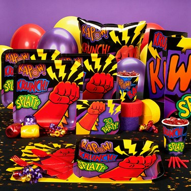 Super Hero Fun Party Supplies