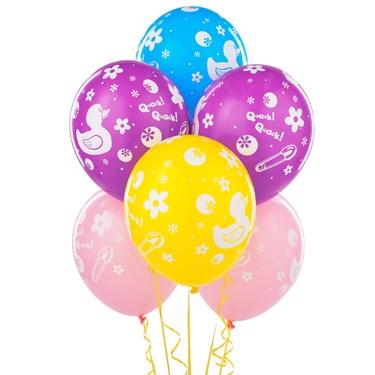 Rubber Ducky Latex Balloons