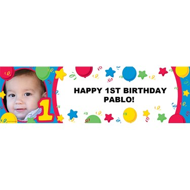 Primary #1 Personalized Photo Banner