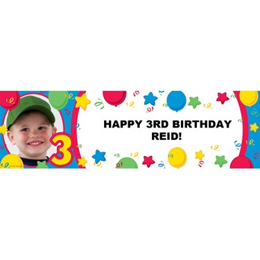 Primary #3 Personalized Photo Vinyl Banner