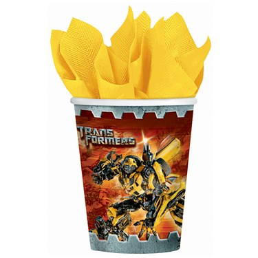 Transformers 3 - 9 oz. Paper Cups