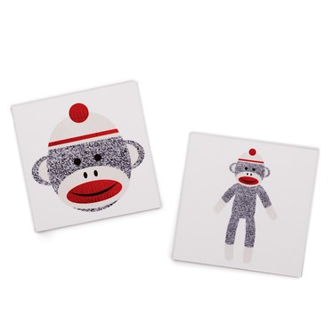 Sock Monkey Red Tattoos