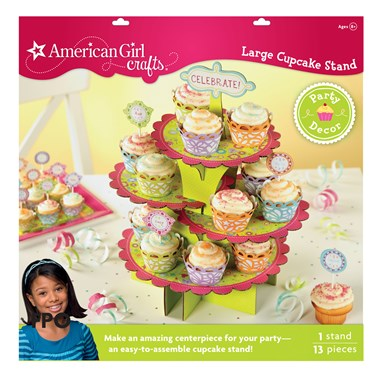 American Girl Crafts - Large Cupcake Stand