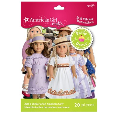 American Girl Crafts - Doll Sticker Decorations