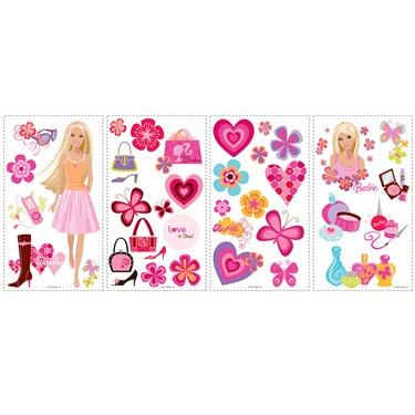 Barbie Deco Peel & Stick Wall Decals