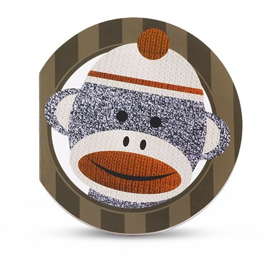 Sock Monkey Red Notepads