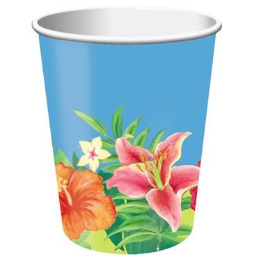 Hibiscus Heat 9 oz. Paper Cups