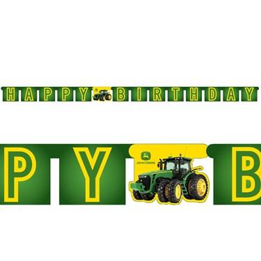 John Deere Tractor Jointed Banner