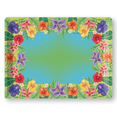 Hibiscus Floral Tray