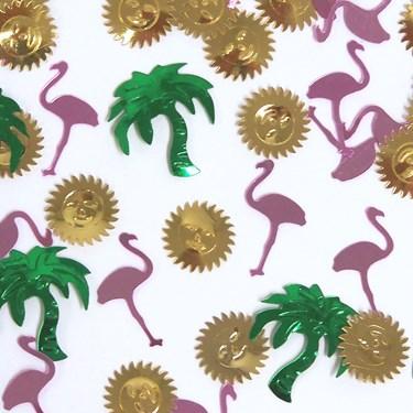 Flamingos Paradise Confetti