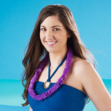 Purple Soft-Twist Leis