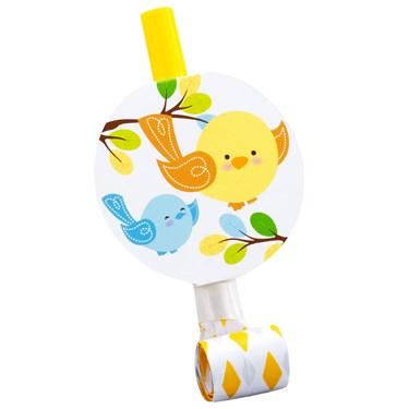 Sweet Tweet Bird Blue - Blowouts