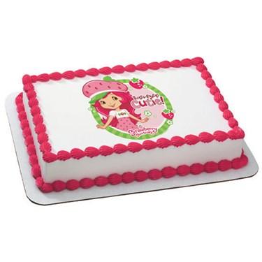 Strawberry Shortcake - Tutti Fruitti Edible Image Cake Topper