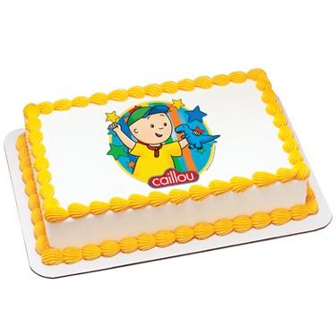 Caillou - Dinosaur Edible Icing Cake Topper