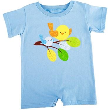 Sweet Tweet Bird Blue - Body Suit