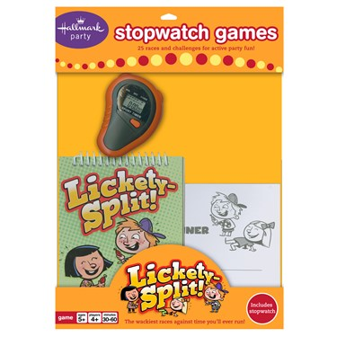 Lickity Split Party Game