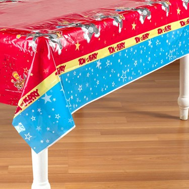 Tom and Jerry Plastic Tablecover