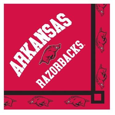 Arkansas Razorbacks Beverage Napkins