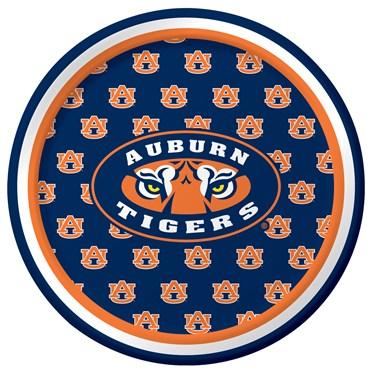 Auburn Tigers Dessert Plates