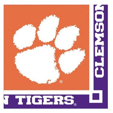 Clemson Tigers Beverage Napkins