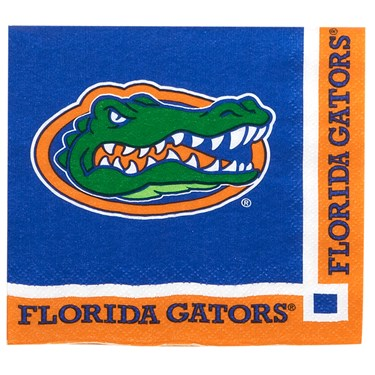 Florida Gators Beverage Napkins