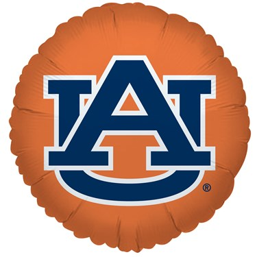Auburn Tigers Foil Balloon