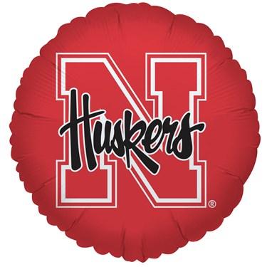 Nebraska Cornhuskers Foil Balloon