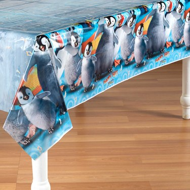 Happy Feet 2 Plastic Tablecover