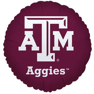 Texas A & M Aggies Foil Balloon