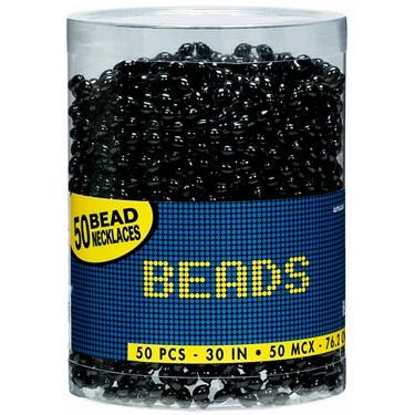 Bead Necklaces - Black