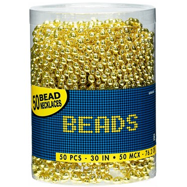 Bead Necklaces - Gold