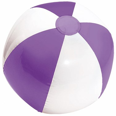 Inflatable Stadium Ball - Purple & White