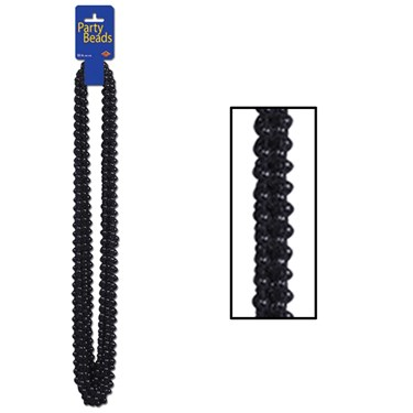 Party Beads - Black