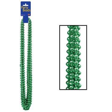 Party Beads - Green