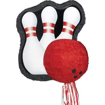 Bowling Pull-String Pinata