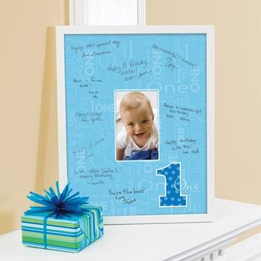 Everything One Boy Framed Signature Matte