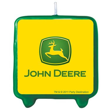 John Deere Tractor Molded Candle