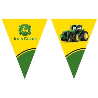 John Deere Tractor Flag Banner