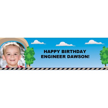 Traintastic Personalized Photo Banner