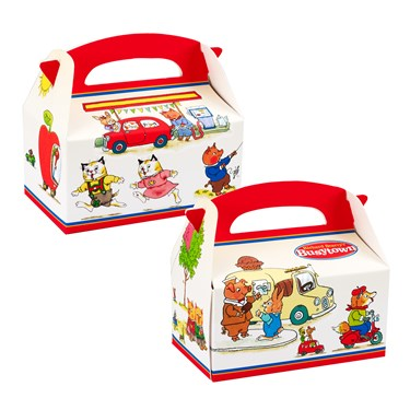 Richard Scarry's Busytown Empty Favor Boxes