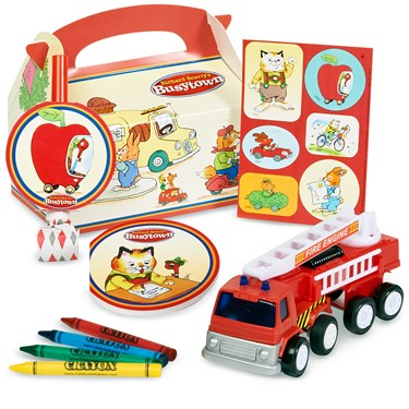 Richard Scarry's Busytown Party Favor Box