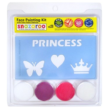 Lilac and Bright Pink Face Paint Set
