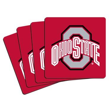 Ohio State Buckeyes Neoprene Coasters