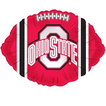 Ohio State Buckeyes Foil Football Balloon