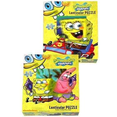Spongebob Lenticular Puzzle