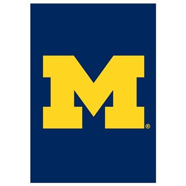 Michigan Wolverines Window / Garden Flag