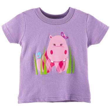 Hippo Pink T-Shirt