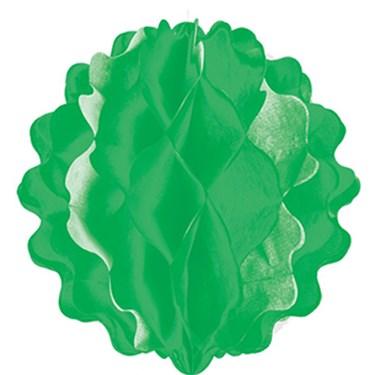 """8"""" Green Paper Honeycomb Ball"""