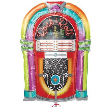 1950's Rock N Roll Jukebox Jumbo Balloon