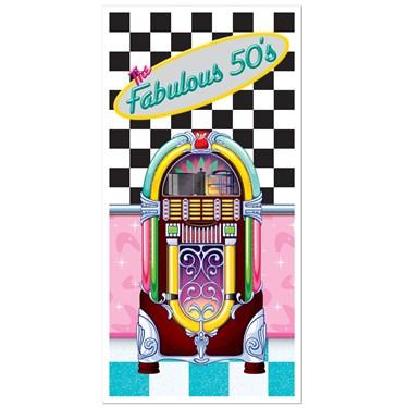 1950's Fabulous 50's Door Cover